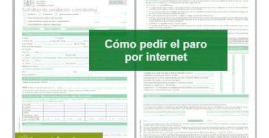 Cómo pedir el paro por Internet (en la crisis del coronavirus)