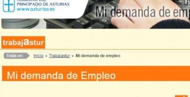 Cómo sellar el paro por internet en Asturias