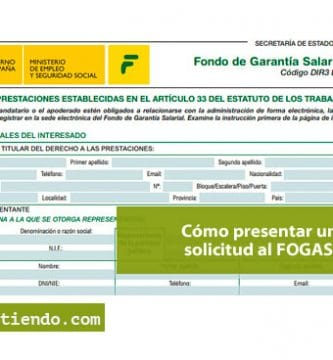 Cómo presentar una solicitud de prestaciones al FOGASA