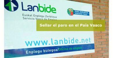 Cómo sellar el paro en el País Vasco