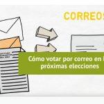 Cómo votar por correo en las elecciones del 10 de noviembre, paso a paso
