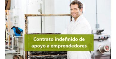 El contrato indefinido de apoyo a los emprendedores