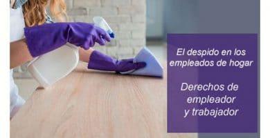 El despido de los empleados del hogar