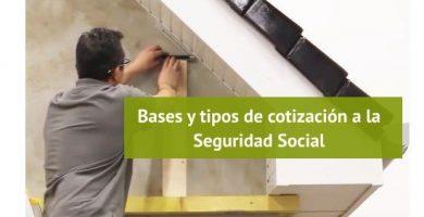 Cotizaciones a la Seguridad Social en 2020