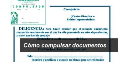 Cómo y dónde se pueden compulsar documentos