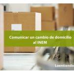 Cómo informar de un cambio de domicilio al INEM