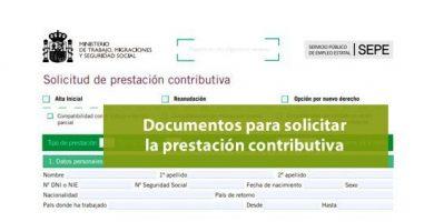 Documentos para solicitar la prestación por desempleo