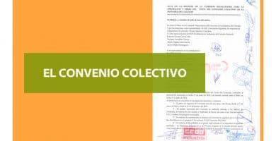 El Convenio colectivo.  Imprescindible para conocer tus derechos