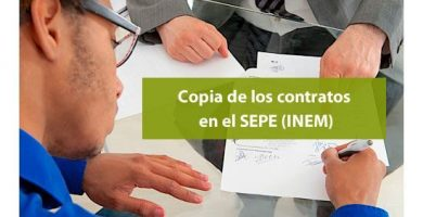 La copia de los contratos de trabajo que se conserva en el SEPE (INEM)